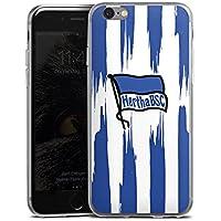 Apple iPhone 6 Slim Case Silikon Hülle Schutzhülle Hertha Bsc Bundesliga Fussball Hertha