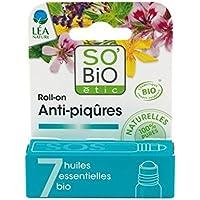 SO 'BIO ETIC - SOS Roll-On für Insektenstiche - mit natürlichen ätherischen Ölen - Wirksam auch auf Urticant Pflanzen... preisvergleich bei billige-tabletten.eu