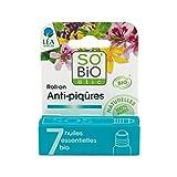SO' BIO ETIC - Roll-On SOS per le Punture d'Insetto - con Oli Essenziali Naturali - Efficace anche su Piante Urticanti - Lenisce Arrossamenti e Prurito - Certificato Bio - 5 ml