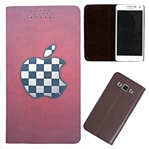 DooDa - For Micromax Knight 2 E471 PU Leather Designer Fashionable Fancy Flip Case Cover Pouch With Smooth Inner Velvet