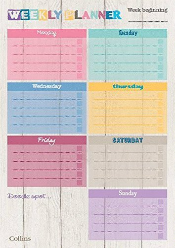 collins-a4-unique-layout-weekly-planner-pad-pack-of-60-sheets