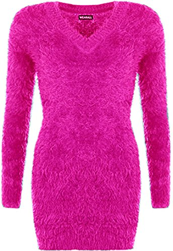 SSoul - Sweat-shirt - Femme Taille Unique Fuchsia