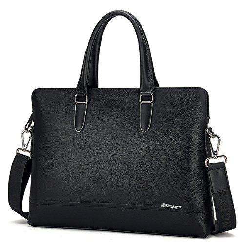 Männer Rindsleder Koreanisch Mode Messenger Bag Business Umhängetasche Leder Männliche Tasche Beiläufige Tasche B