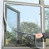 LANDP Magnetvorhang Haushalt Klettverschluss Selbstklebend Magnetischer Magnet fliegengitter Fenster insektenschutz Magnetstreifen herum Einstellbare Größe Geeignet für Fenster