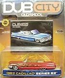 Jada Dub City Red 1962 Cadillac Series 62 1:64 Scale Die Cast Car by Dub City