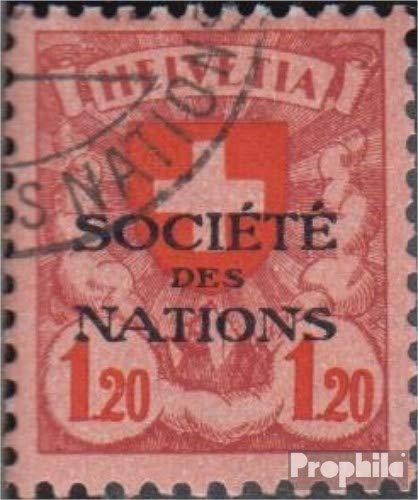 Prophila Collection Schweiz SDN23x 1924 Völkerbund (Briefmarken für Sammler)