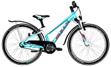 Jugend Fahrrad 24 Zoll hellblau - Bulls Mädchen Bike Zarena Street - Shimano Nabenschaltung, StVZO Beleuchtung