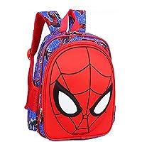 Childrens Superhero Backpack with Adjustable Shoulder Straps