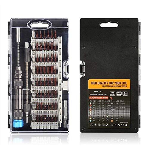 KDLBO Schraubendreher 61-in-1-Präzisions-Schraubendreher-Satz Multi-Funktions-Magnetbohrer Telefon Elektronische Reparatur03