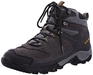 Hi-Tec Men's Takaro Charcoal Trekking and Hiking Boots - Grey, 9 UK