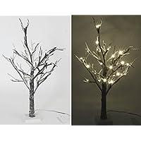 Albero LED luce albero di Natale 90cm Natale Pasqua Inverno foresta