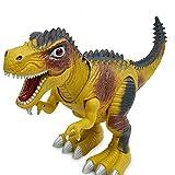 Bescita Jurassic World Tyrannosaurus Rex Dinosaurier, mit Walking Lichtern & Sounds Funktionen, Spielzeug für Jungs,Partyzubehör,Lernstoffe