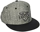 adidas MLS Houston Dynamo Herren Heathered Gray Stoff flach Visier Flex Hat, Large/X-Large, Gray