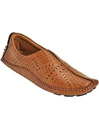Kolapuri Centre Brown Color Casual Slip On Sandal For Men's - B075WR1VJ9