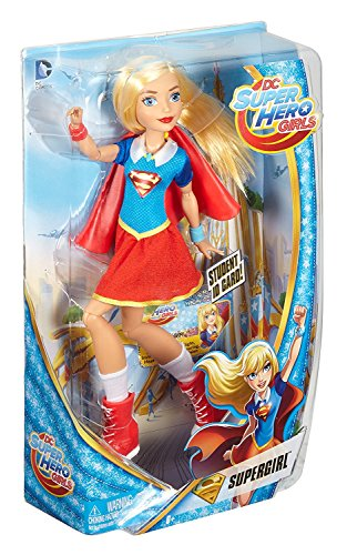 DC Super Hero Girls - Muñeca Supergirl (Mattel DLT63)