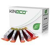 Kineco kompatibel zu Canon PGI-570 XL CLI 571 XL Druckerpatronen [5] für Canon Pixma MG5750 MG5751 MG5752 MG5753 MG6850 MG6851 MG6852 MG6853 TS5050 TS5051 TS5053 TS5055 TS6050 TS6051 TS6052