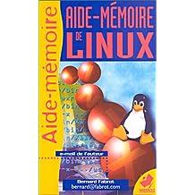 Aide-mémoire de Linux