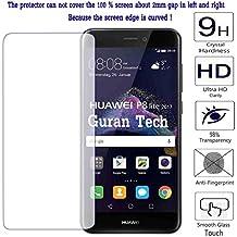 Guran® Protector de Pantalla Cristal Templado Vidrio Premium para Huawei P8 Lite 2017 Smartphone