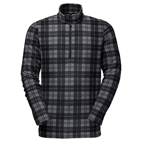 Jack Wolfskin Pullover Greenland Check black all over XX-Large