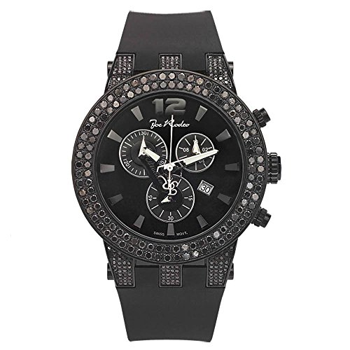 Joe Rodeo Diamond Orologio da uomo - BROADWAY Nero 6,5 CTW