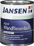 Jansen AQUA Fliesenlack Weiß Seidenmatt