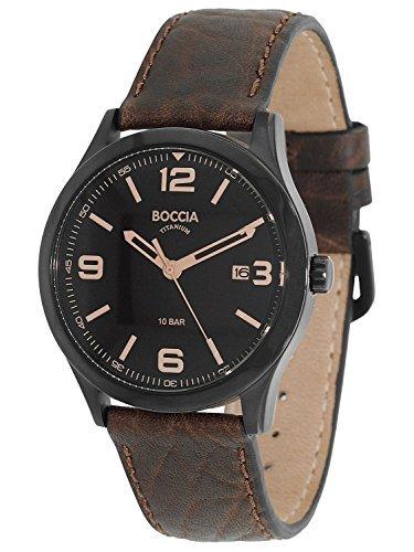 Boccia Titanium Herren-Armbanduhr 3583-02
