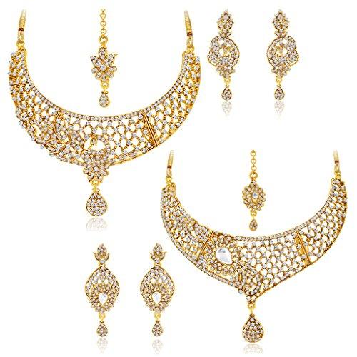 Sukkhi Jewellery Sets for Women (Golden) (383CB2100)