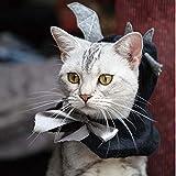 Mascota Víspera De Todos Los Santos Murciélago Encapuchado Capa Gato Perro Linda Alas Sombrero Cosplay Headwear Disfraz Accesorios para Gatos/Kitty / Puppy. Cacoffay