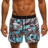 LMMET Costume da Bagno, Boxershorts Uomo Elastico con Taschino e Coulisse a Vita Bassa Slim per Nuoto Spiaggia Mare Piscina Sport Slip Pantaloncini Calzoncini Mutande Costumi Uomo Piscina