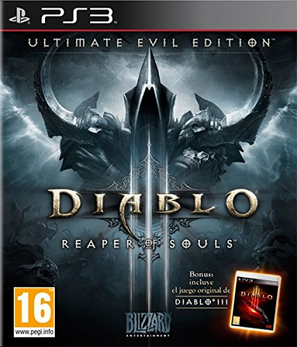 Activision Blizzard - Diablo III (3): Reaper of Souls - Ultimate Evil Edition (Spanish Box - EFIGS In Game) /PS3 (1 GAMES) (Ps3 Diablo 3)