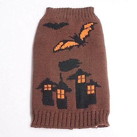Moolecole-kühles Haustier-Kostüm-Halloween-Schläger-Schloss-Hexe-Haustier-Kleidung (Kühle Superheld Kostüme)