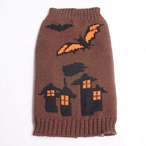 Moolecole-kühles Haustier-Kostüm-Halloween-Schläger-Schloss-Hexe-Haustier-Kleidung (Kostüme Hexe König Die)