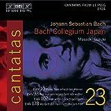 Bach: Cantatas, Vol 23 (BWV 10, 93, 178, 107) /Bach Collegium Japan · Suzuki