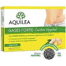 Aquilea Gases Forte Carbón Vegetal, 60cápsulas.