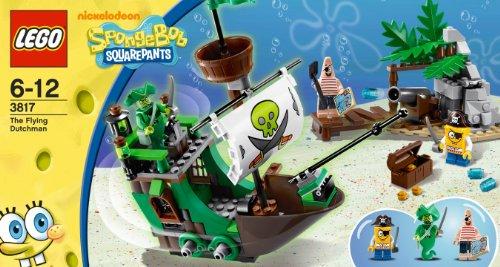 LEGO Bob Esponja 3817 - El Holandés Errante
