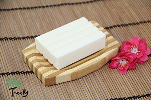 Seifenschale aus Bambus im Stäbchen-Farbenmix - 2