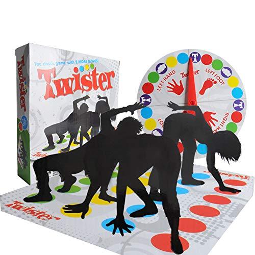 Twister Party Game Blanket Activité de parentalité Équilibre corporel Jeu de Plateau interactif multijoueur à Plateau