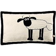 Nici 37210 - Kissen Shaun das Schaf, rechteckig, 64 x 42 cm