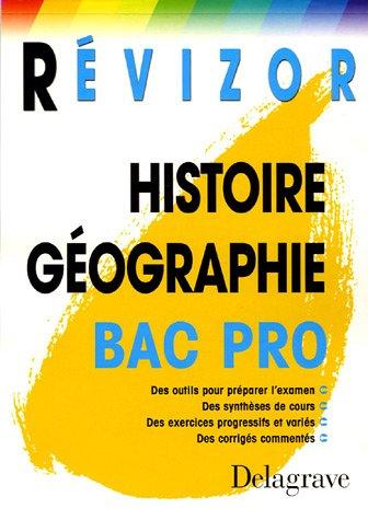 Histoire-Géographie bac pro