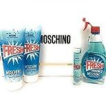 Moschino Fresh Couture EDT 100ml + EDT MINI 10ml + SG 100ml + BL 100ml for Women