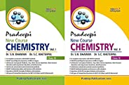 Pradeep's New Course Chemistry for Class 11 (Set of 2 Vol.) Examination 2020-