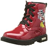 Disney Doctor Minnie, Bottes pour Fille - Rouge - 04 Red, 34 EU