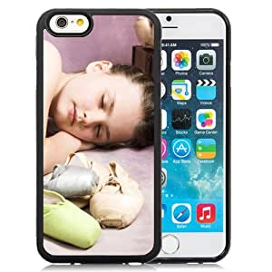 6 Phone cases, Child Girl Dancer Dream Ballet Shoes Tutu Black iPhone 6 4.7 inch TPU cell phone case