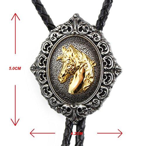 FYX - Corbata Bolo Metal - para Hombre Silver, Gris Talla Única