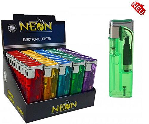 neon-transparent-elektronik-feuerzeug-50-stuck-im-display-nachfullbar