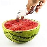 Wassermelonenschneider - Slicer für Melonen aus rostfreiem Edelstahl – Melonenschneider – Melonenausstecher