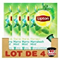 Lipton Thé Vert Marrakech Mint, Capsules Compatibles Nespresso, Label Rainforest Alliance 10 Capsules parent