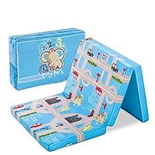 Hauck Sleeper Folding Mattress and Playmat, 60 x 120 cm, Playpark