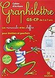 Cahier d'écriture Graphilettre GS-CP de 5 à 7 ans