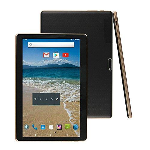 FONXA Tablet 9.6 pollici Octa Core 3G Phone Tablet PC con Custodia - 2GB Ram 32GB Storage - Android Lollipop 5.1- IPS display GPS Bluetooth Dual SIM - Nero